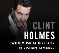 Clint Holmes at the Golden Nugget with Musical Director Christian Tamburr